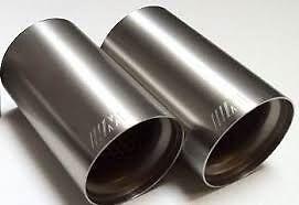 genuine bmw m performance exhaust with titanium tips m3 m4 f80 f82 18302349921 ebay