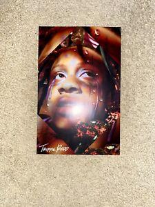 details about trippie redd autographed poster