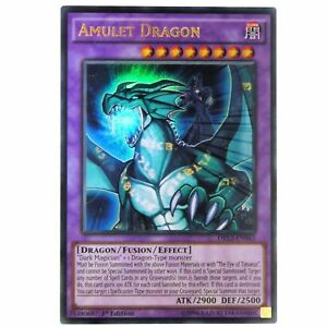 YUGIOH Card Amulet Dragon DRL3-EN043 Ultra Rare 1st Edition | eBay
