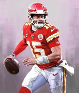 details about patrick mahomes poster wall art home photo print 24 x 36 inch c