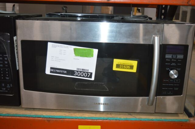samsung stainless steel convection over the range microwave me179kfetsr