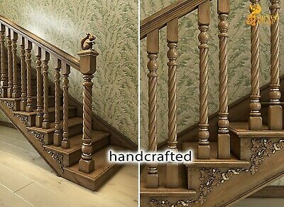 Custom Made Exterior Newel Post For Staircase Set Of 2 Hand | Exterior Wood Newel Posts | Deck | Cap | Box Newel | Handrail | Porch