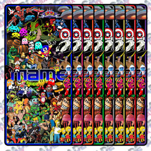 Image Is Loading Mame Multicade Multi Character Series Arcade Game Cabinet