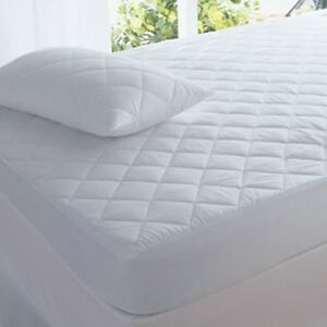 Image Is Loading New Super King Size 100 Cotton Mattress Protector
