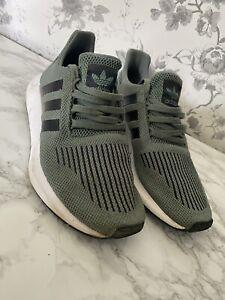 Adidas Swift Runs Khaki Green UK8 | eBay