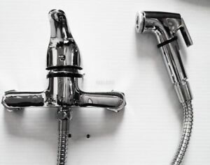 details zu musulman shattaf bidet toilette lave robinet robinet salle de bain douche tuyau