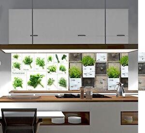 Küchenrückwand SP664 Acrylglas Spritzschutz Fliesenspiegel Küche