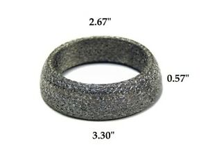 details about obx stainless universal exhaust donut gasket 68 84 14 5 mm 2 65