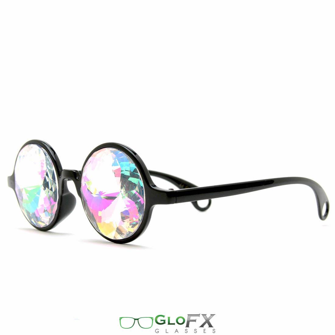Kaleidoscope Eyeglass Trippy Psychedelic Futuristic