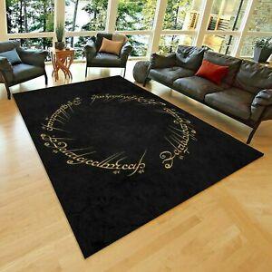 details sur le seigneur des anneaux 1 tapis de sol antiderapant tapis ado 80x150 cm