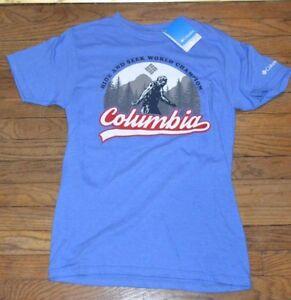 Details About Columbia Sportswear Company Hide Seek World Champion T Shirt Tee