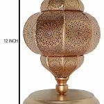 Indian Night Lampshade Moroccan Bedroom Floor Desk Metal Lamp Yellow 12 X 7 5 For Sale Online Ebay