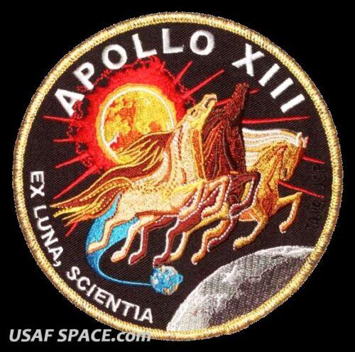 Apollo 13 Mission Commemorative 5quot Tim Gagnon ORIGINAL AB Emblem NASA PATCH eBay