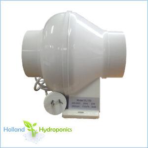 4 inch 100mm inline exhaust fan