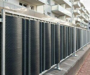 details sur couverture de balcon sur mesure brise vue pour balcon cloture de jardin