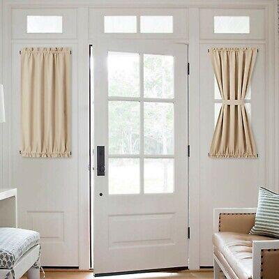 nicetown side lights front door curtain entry way decor room darkening fren ebay