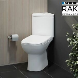 Image Is Loading Rak Compact Ceramic Corner Toilet Pan Geberit Dual