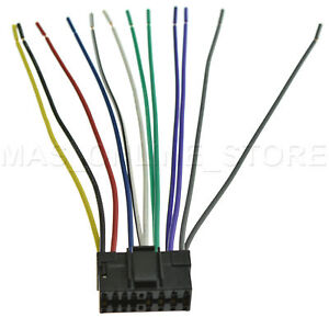 Wire Harness For Jvc Kd R210 Ar200 Ar300 Lgar400 Pay
