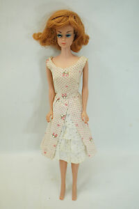 VINTAGE FASHION QUEEN BARBIE DOLL 870 RED WIG JAPAN GARDEN PARTY 931     Image is loading VINTAGE FASHION QUEEN BARBIE DOLL 870 RED WIG