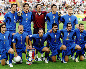 Italy - 2006 World Cup Champions, 8x10 Team Color Photo | eBay