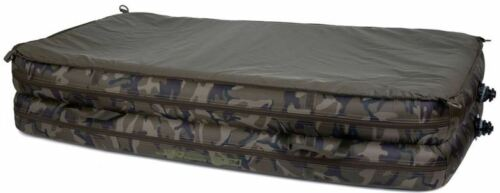 fox carpmaster xl gonflable air mat camouflage decrochage ultimate care ccc045 sports vacances balances tapis de reception