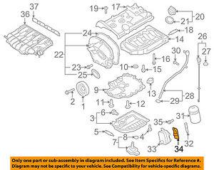 VW VOLKSWAGEN OEM 0917 CC Engine PartsOil Cooler Gasket