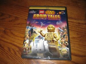 Details About Lego Star Wars Droid Tales Disney Five Episodes Dvd New Sealed Fast Ship