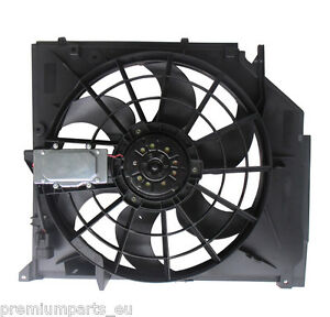 Radiator Cooling Fan for BMW E46 19982006 316i 318i 320i