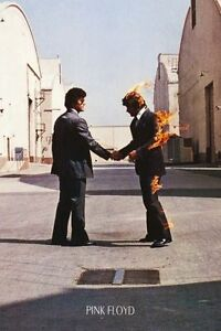 (LAMINATED) PINK FLOYD WISH YOU WERE HERE ALBUM COVER ...