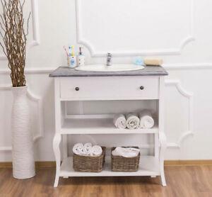 Arredo bagno ikea, tutte le novità. Mobile Bagno Design Provenzale Imperiale Shabby Chic Vintage Industriale Casa Ebay