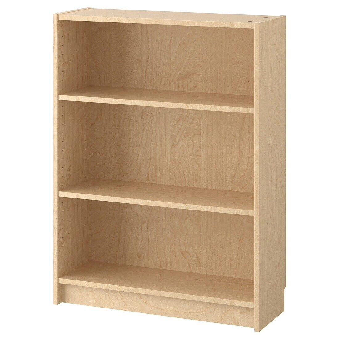 Ikea Billy Bookcase Birch Veneer 2 Shelves Included 802 797 86 New In Box
