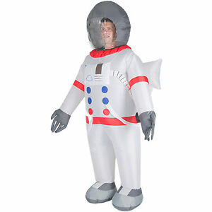 Adult Inflatable Spaceman Astronaut Fancy Dress Costume ...