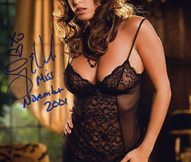 Image Is Loading Lindsey Vuolo Signed 8x10 Photo Playboy Playmate New