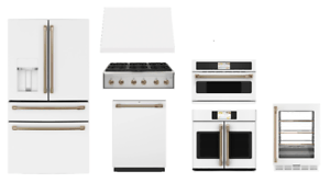 details about ge cafe matte white value kitchen package