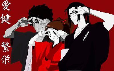 samurai champloo characters anime manga artwork art print premium poster ebay