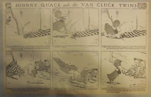 Johnny Quack by Charles Twelvetrees from 1910 Early Duck Comic! Half Page Size!