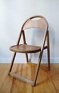 details sur chaise russe sovietique pliante en bois bistrot annees 50 60 design vintage 1950