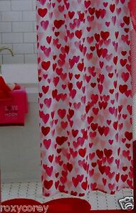Valentines Day White White Pink Amp Red Hearts Fabric