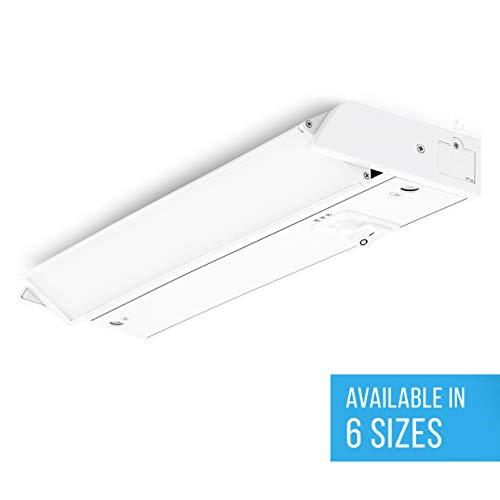 parmida led swivel under cabinet light adjustable lens angle 16 inch 10