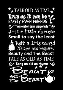 beauty and the beast lyrics # 7