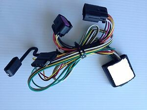 Can Am Spyder F3 Trailer Wiring Harness Flat 4 Pins