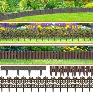 details sur set bordure de jardin rebord de jardin aspect granit laiton ou palissade