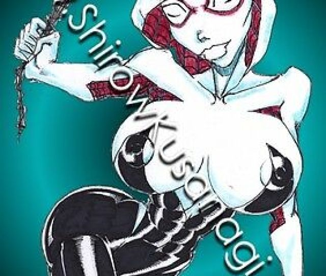 Shirow Sexy Spider Gwen Stacy Spider Girl Man Dc Marvel Comics