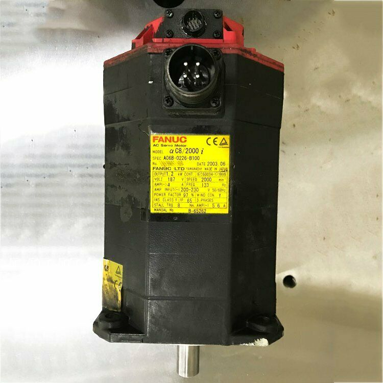 1PCS Used For Fanuc A06B-0226-B100 Servo Motor Tested in Good Condition#QW