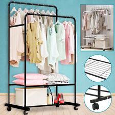 double rail heavy duty garment rack