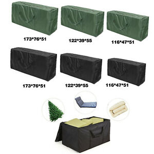 details about furniture cushion cover case patio heavy duty outdoor storage cover rainproof