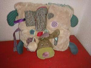 details sur tapis d eveil pour enfant coussin chien de moulin roty
