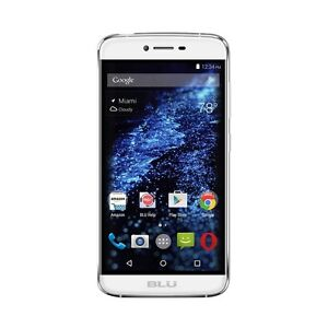 BLU - Studio ONE 4G LTE with 16GB Memory Cell Phone (Unlocked) - Pure white