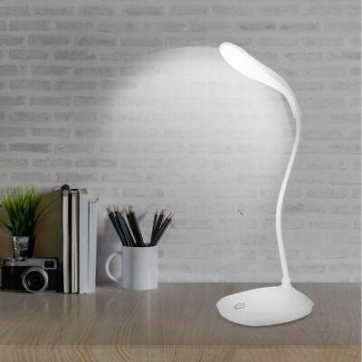 Usb Led Reading Light Flexible Rechargeable Touch Sensor Bedside Desk Table Lamp Ebay