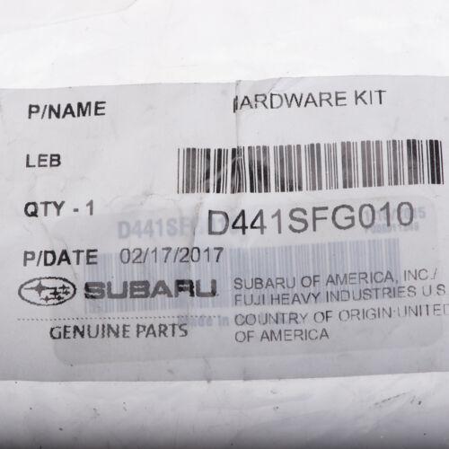oem subaru spt performance catback exhaust system hardware kit new d441sfg010 car truck parts bennysberries car truck exhausts exhaust parts